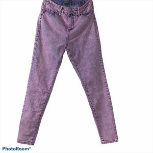 Wild Fable Pink Acidwash Jeans
